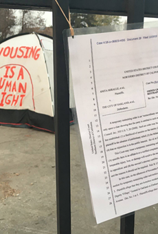 Federal Judge Says Oakland Can Close Homeless Camp on City-Owned Property