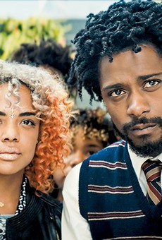 Tessa Thompson and Lakeith Stanfield star in Sorry to Bother You.