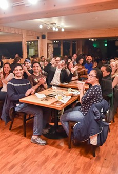 Comedy Oakland takes over the upstairs loft of The Spice Monkey Restaurant & Bar.