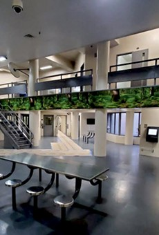 The county's new behavioral health unit is designed with at-risk inmates in mind.
