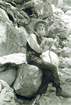 FOUNDER: John Muir, seen here in 1907, founded the Sierra Club, a prominent conservation organization.