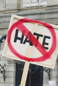 NO HATE: San Leandro City Council is likely to adopt a resolution to condemn white supremacy.