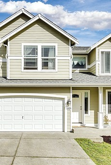 PRICEY: The median price of a single-family home in the Bay Area, like this house in San Leandro, hit a record high of 1.068 million.