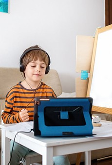 SOLO ACT: Learning virtually is tough on all students, but especially young learners who have disabilities.