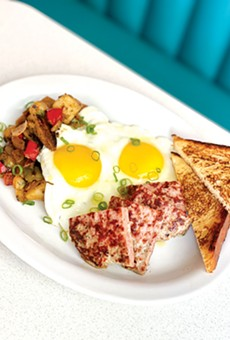 FIXED UP: Daughter's Diner chef and owner Kevin Wilson gives a gourmet touch to diner staples.