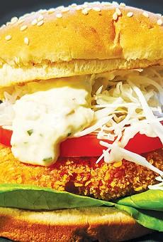 SANDO CLAUSE: Yoshika Hedberg and chef Asuka Uchida changed up Fish & Bird Sousaku Izakaya's menu early in the pandemic by adding sandwiches, which include ebi katsu.