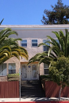This Berkeley property lists all of its units available to rent on Airbnb, according to the Berkeley Tenants Union. Rentals of less than 14 days are currently illegal in Berkeley.