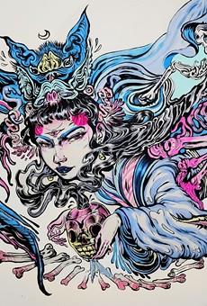 Work by 4%ers  artist Lauren YS.