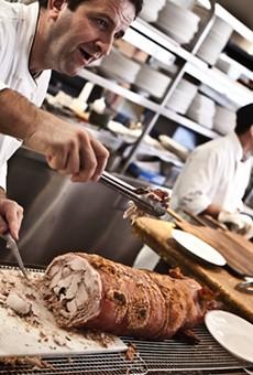Donato Scotti serves up a whole lot of pork.