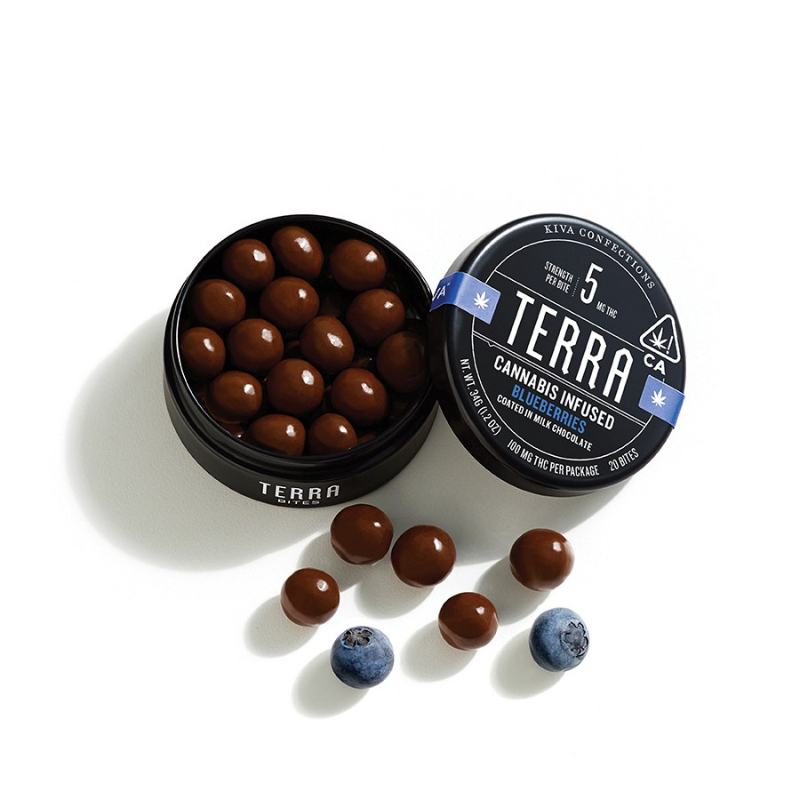 click to enlarge Kiva's microdosed Terra Bites - PHOTO COURTESY OF KIVA  CONFECTIONS