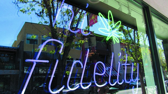 Hi Fidelity is the perfect antidote to corporate cannabis. - PHOTO BY DAVID DOWNS