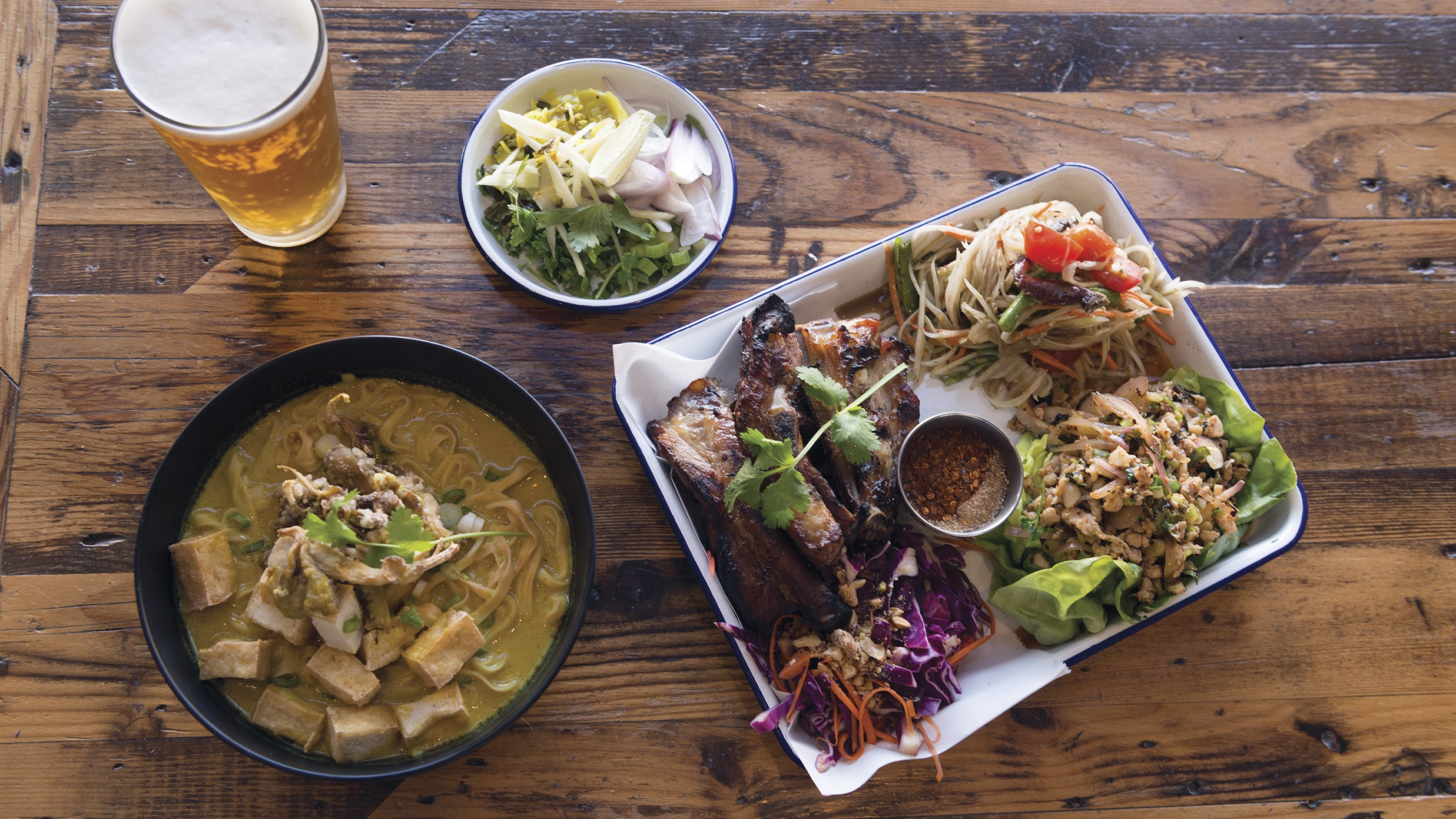 Bird Buffalo Serves Thai Soul Food With Mixed Results