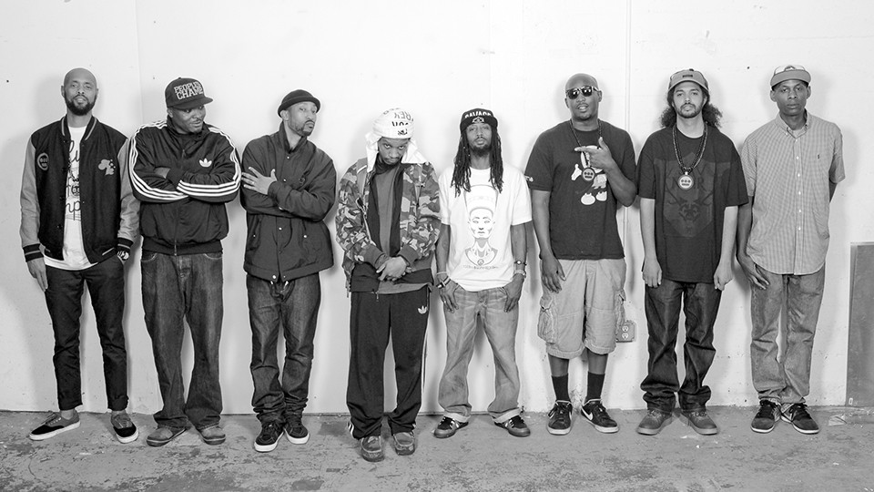 The Hieroglyphics crew prefers to call its annual music festival a block party.