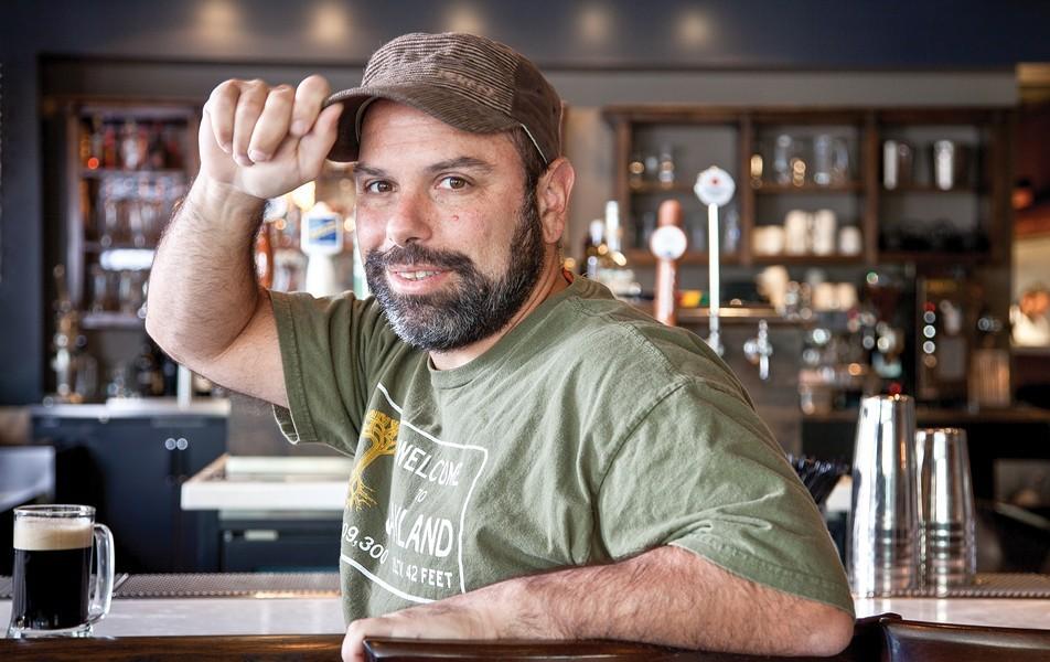 Restaurateur Chris Pastena - LORI EANES