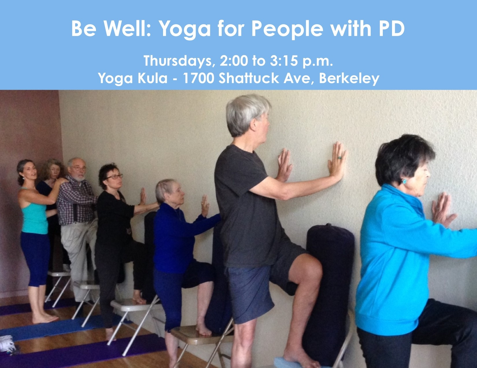 Be Well Yoga For People With Parkinson S Disease Yoga Kula Berkeley Class Workshop East Bay Express