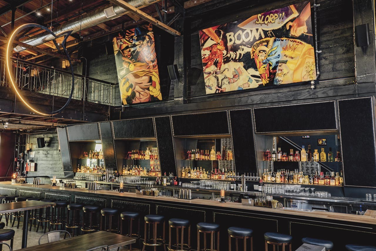 First Edition, a Comic Book-Themed Bar, Now Open in Uptown ...