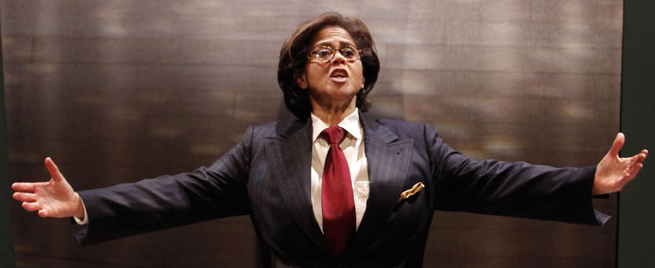Anna Deavere Smith. - JOAN MARCUS / BERKELEY REP