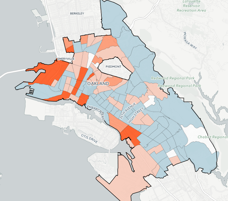 UC Berkeley Researchers Map Oakland Gentrification and