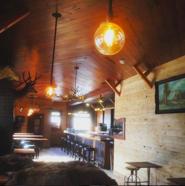 The Interior Of Lodge Via Instagram Tastyspoon