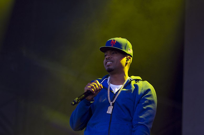 Nas performed songs from his classic album, Illmatic, on the second day of Bay Area Vibez. - ERIN BALDASSARI