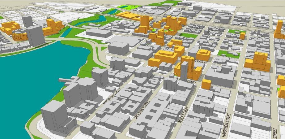 Potential new development under the Lake Merritt Station Area Plan by 2035. - CITY OF OAKLAND