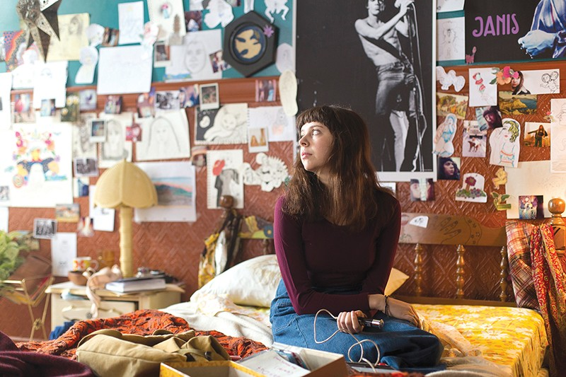 Bel Powley gives an impressive performance in The Diary of a Teenage Girl.