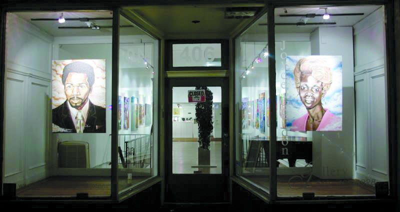Exterior installation view. - COURTESY JOYCE GORDON
