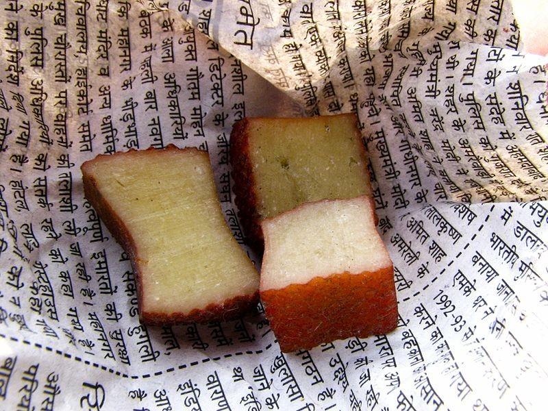 Nepalese chhurpi. - WIKIMEDIA COMMONS