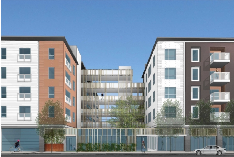 Camino 23, an affordable housing development planned for 23rd Avenue that was recently funded with state cap-and-trade money. - SAHA