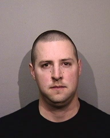 Oakland Police Officer Ryan Walterhouse's booking photo from Alameda County Jail.