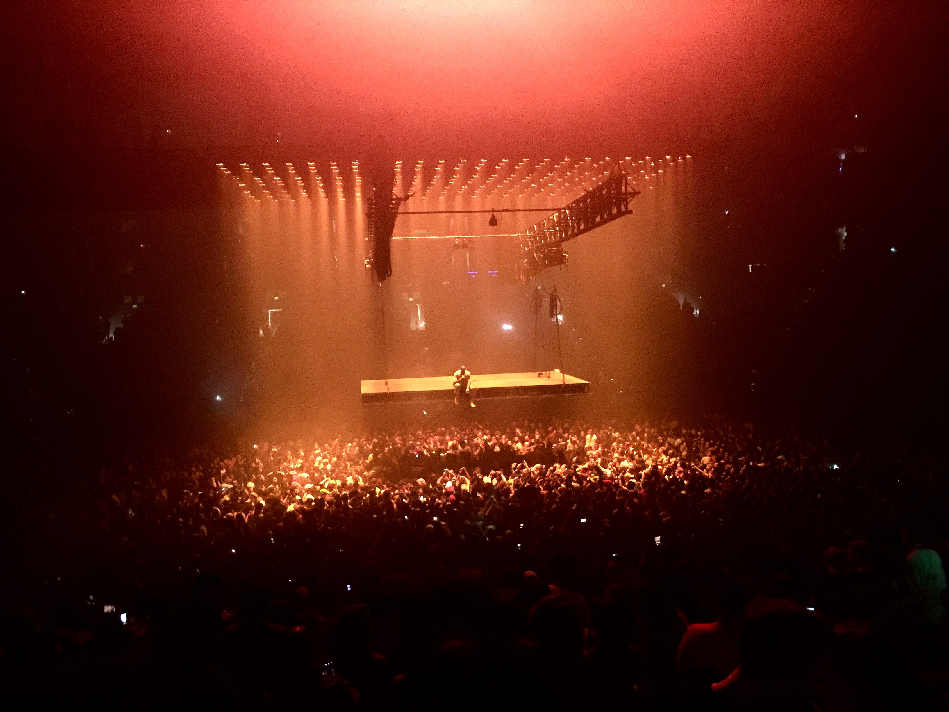 Five Memorable Rants from Kanye Wests Concert Last Night In