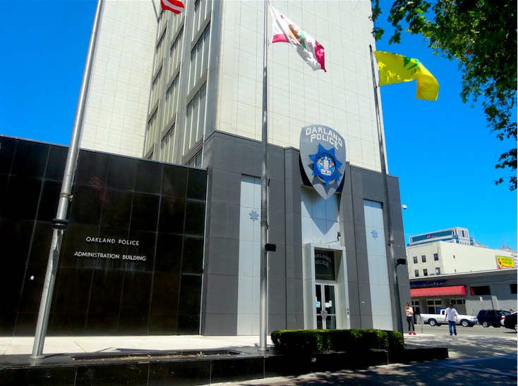 Oakland's Police Administration Building.