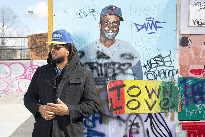 "Keith ""K-Dub"" Williams works to establish more legal skate spots - in Oakland. - ERICK GARCIA"