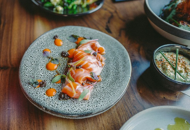 Ocean trout at Shinmai. - PHOTO COURTESY OF JEREMY CHIU