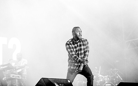 Kendrick's Kung Fu Kenny persona - IMAGE BY BATISTE SAFONT
