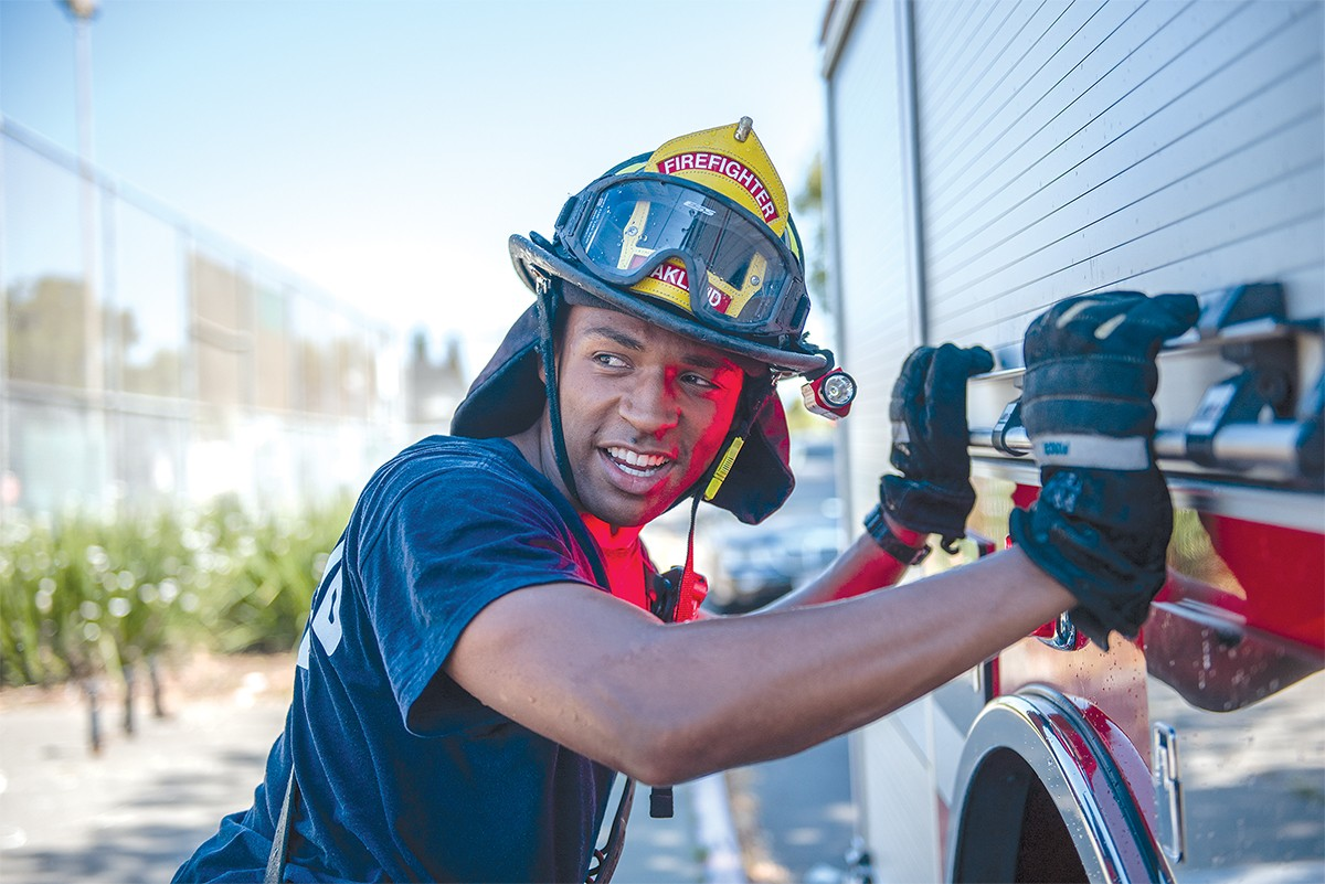 Bright Sparks: While the Oakland Fire Department Takes Heat