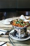At China Village, the dishes are mouth-numbingly spicy, and they look festive, too.