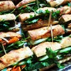 This plant-based riff on banh mi uses tofu instead of meat.