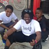 """Najari """"Naj"""" Smith was leading a group of about 40 young riders when he was arrested by Oakland police."""