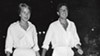 Marianne Ihlen and Leonard Cohen on Hydra.