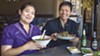 "Kwanjira (""Ann"") and her husband, Bunpot (""Chef Paul"") Chan, of Larb Thai Food & Tapas, have a vision to cook traditional entrées and popular street food especially for Thai palates."