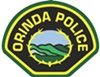 On any given night, Orinda has two police cars on patrol.