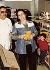 Antonio and Natividad Ramos — Tina's parents — at La Borinqueña in 1977.