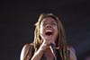 Vocalist Jennifer Johns joined Kev Choice Ensemble on stage.