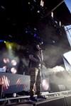 Rapper Supernatural freestyled at the end of Z-Trip's set.