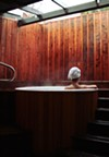 A private hot tub at Piedmont Springs.