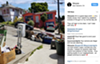 An interaction between Edebiri and some of the E. 29th Street neighbors on Instagram.