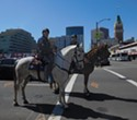 Oakland Police Brings Back Its Horse-Mounted Unit