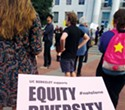 For Prop. 16, 'equity and inclusion' must replace 'quotas' misuse