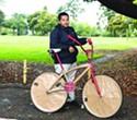 Scraper Bikes at the Farmer's Market